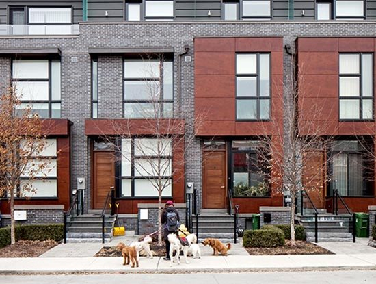 Townhouses on Manning in Toronto