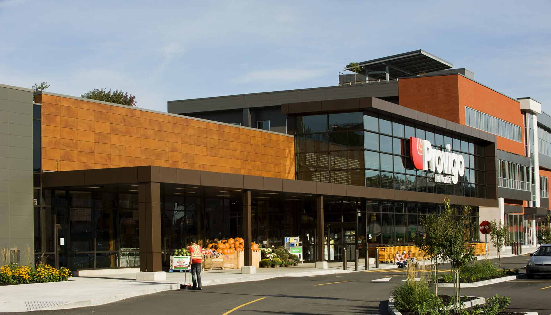 Engineered Assemblies - Provigo - Quebec using Parklex Wood
