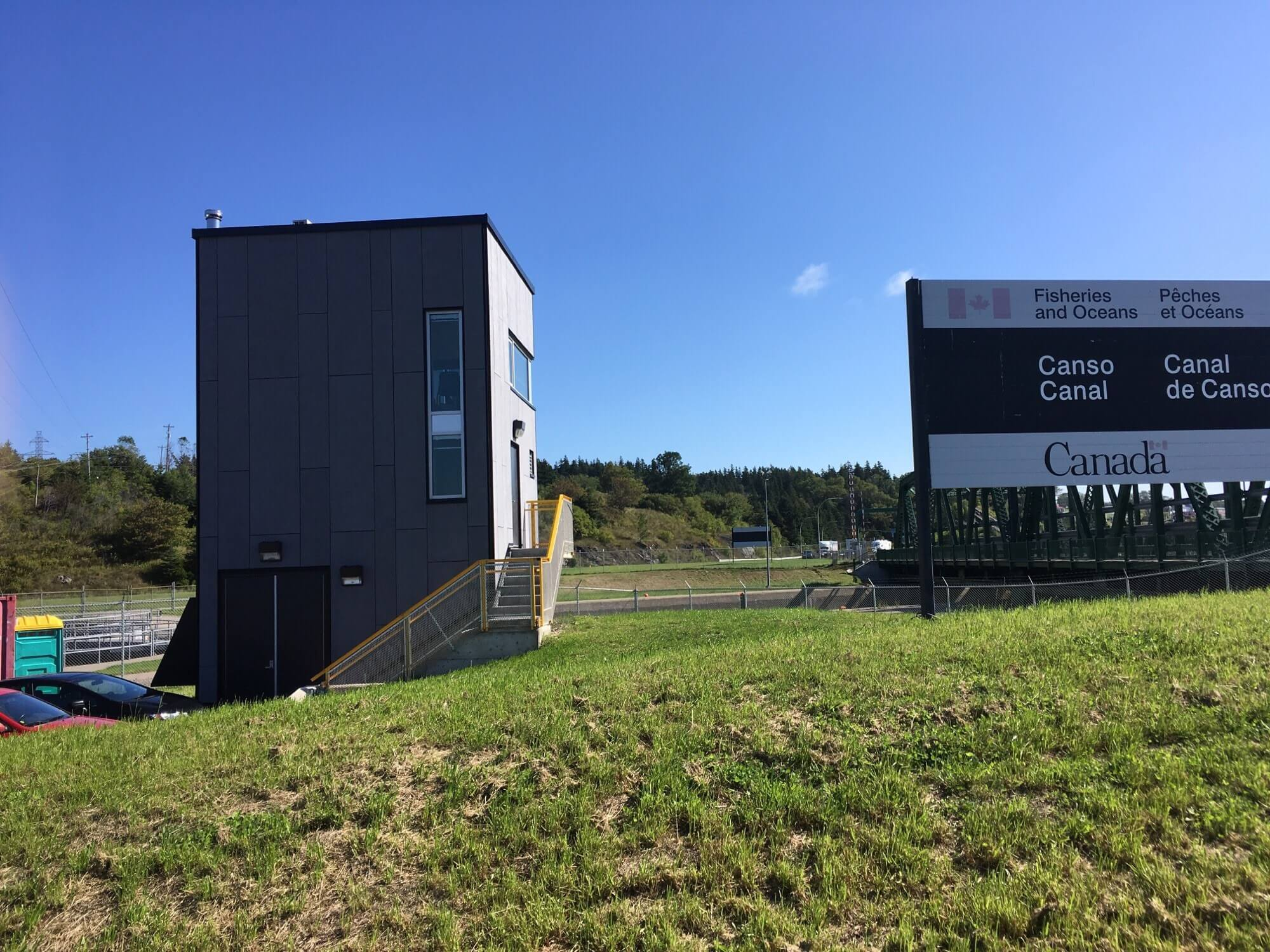 Canso Canal Control Tower By Engineered Assemblies