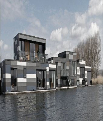 Floating Houses Lelystad