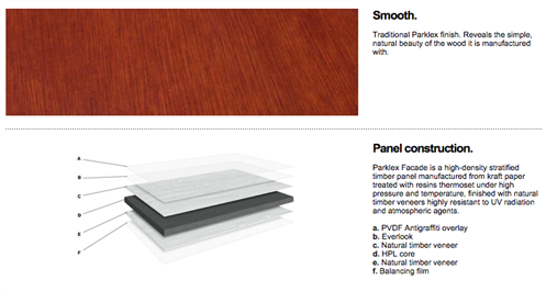 Engineered Assemblies Parklex Wood Veneer Facades Material
